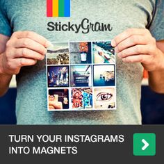 Turn your Instagrams into lovely little magnets