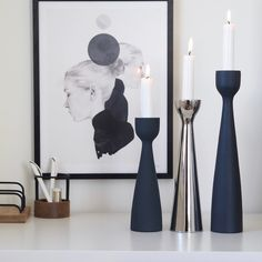 Delighted to restock not only our trio lights this week but the cloudy balls in the three sizes and brand new trio lights… Dere, Bookends, Third, Chrome, Lights, Black And White, Interior, Balls, Pink