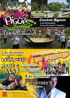 Pigüé Festeja su 128º Aniversario en Pigüé