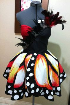 Butterfly PROM dress by SaraKimTerrero on Etsy, $750.00 - I WANT THIS FOR MY NEXT SHOW!