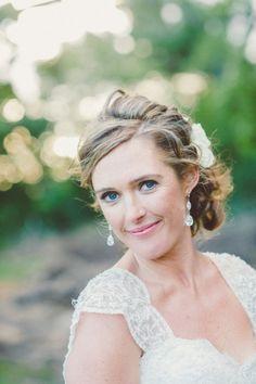 #bridalUpDo, #ClassicBridalEarings, #LaceCapSleeves, #vintageBride, #bridalCapSleeves #vintageBridalGownForSale, #JulesMorganPhotography
