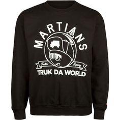 TRUKFIT Feelin Spacey Mens Sweatshirt #space #martian #trukfit #daworld