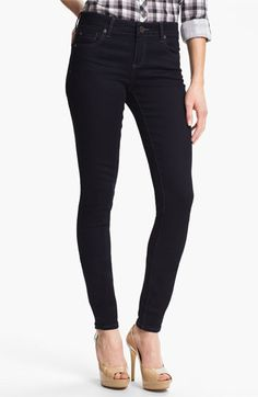 """April Stitch Fix keeper: KUT from the Kloth 'Mia' Toothpick Jeans (Delight) available at #Nordstrom - I balked at """"skinny"""" jeans because usually they don't fit. But these do! Really well."""
