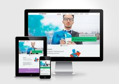 Werbeagentur mindmelt #flatdesign #flatuidesign #flatwebdesign #websitedesign2014