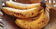 Čo sa stane s vaším telom, ak zjete banány s tmavými bodkami