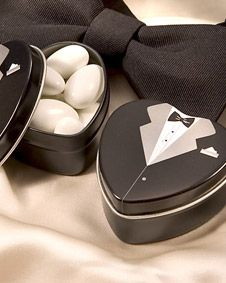 Filled with mints or other treats, bride and groom mint tin favors can bring a fresh air to your wedding. From the exclusive Dressed to the Nines mint tin collection, these tuxedo mint tins are stylish. Unique Wedding Favors, Unique Weddings, Wedding Gifts, Elegant Wedding, Pink Weddings, Tuxedo Wedding, Wedding Groom, Wedding Dress, Party Decoration