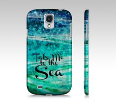 Take Me to the Sea Samsung Galaxy S3 S4 Hipster by EbiEmporium, $40.00  #Samsung #tech #device #cover #case #cell #phone #fineart #art #pattern #elegant #bold #colorful #techie #gift #stylish #accessories #fashion #GS4 #GS3 #Galaxy #MadetoOrder #custom #bold #font #typography #hipster #cool #ocean #waves #sea #adventure #wanderlust #outdoors #beach #ombre #blue #teal #green #whimsical #colorful #nature #water #chic #quote #quotation