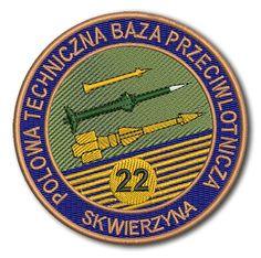 Naszywka 22 Polowa Techniczna Baza Przeciwlotnicza Skwierzyna