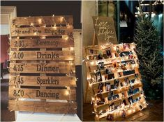 An amazing wood pallet wedding ideas is surfaced hangings or sketches. Affordable wood pallet wedding ideas improve the beauty of surfaces. Creativity and effort can turn recycled timber in a valuable gift. So we sug...