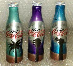 Coca-Cola Diet Design Aluminium Bottle 2011 - Israel