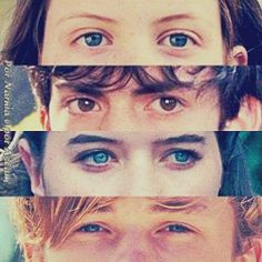 You notice how Edmund is the only one with brown eyes, and the rest have blue, to me it really shows how Edmund was different from the others, from the very begining.