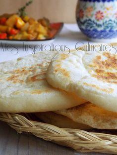 batbout marocain a la poele 1 Beignets, Bakery, Menu, Samar, Cooking, Sweet, Ethnic Recipes, Desserts, Pains