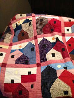 Handstitched Quilt Hand Stitched Blanket Vintage | eBay