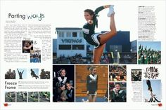 I could use a spread like this for a sports page... If only weightlifting was as interestting... #semiyb #nov