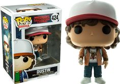 Funko POP Television Stranger Things Dustin with Brown Jacket Toy Figure Exclusive Funko Pop Toy Story, Funko Pop Toys, Funko Pop Figures, Pop Vinyl Figures, Funko Pop Vinyl, Stranger Things Dustin, Stranger Things Funko Pop, Stranger Things Funny, Stranger Things Season