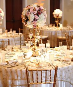 glamorous-vintage-wedding-reception-linen-decorations.jpg 582×693 píxeles