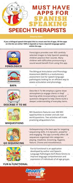 Must have apps for bilingual speech therapists.