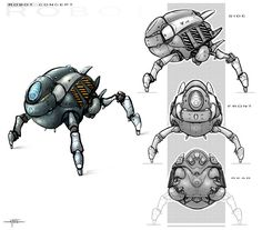 wall e concept art - Google Search