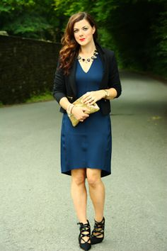 Rachel the Hat: One Navy Dress for Day and Night