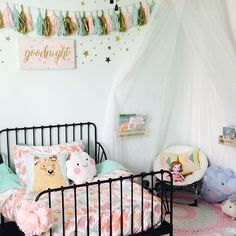 10 Cute Ideas to Decorate a Toddler Girl\'s Room - http://www ...