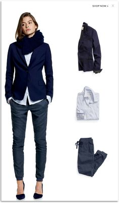 The Suit Blazer by Banana Republic. #womenswear #fw2014