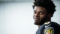 Lamar Jackson, Sports Fanatics, Baltimore Ravens, Football Players, Baby, Soccer Players, Babys, Baby Humor, Baby Baby