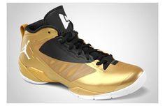 """Jordan Fly Wade 2 EV """"Metallic Gold Coin/Black-White"""""""