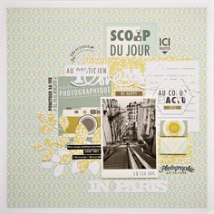 I love my life in Paris by Armance Scrap