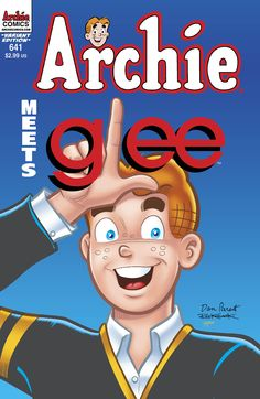 Don't forget to visit your local comic shop (www.comicshoplocator.com) this Wednesday to pick up this awesome #Archiemeetsglee variant! @GLEE on FOX #comics #Archie #ArchieComics