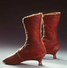 Boots, 1785-1835, English.