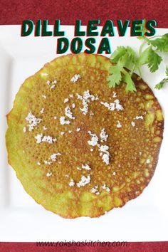 Dill Leaves dosa or shepeche pole is a healthy dosa recipe in which aromatic dill leaves are ground along with grated coconut and jaggery and is mixed in regular dosa batter. This green dosa batter is then used to make delicious breakfast pancakes. These pancakes are sweet in taste and flavourful due to the aromatic dill leaves. Eat these dill leaves recipe Indian and reap the dill leaves benefits.
