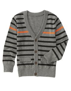 Stripe Cardigan at Crazy 8