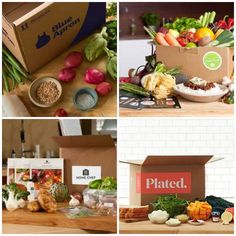 Blue Apron vs Hello Fresh vs Plated vs Home Chef – Apr 2016 - Check out my breakdown of Blue Apron vs Plated vs Hello Fresh vs Home Chef for April 2016, plus check out reviews of all four meal subscription boxes!