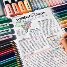 some very colorful notes by comment below the first thing on your monday afternoon todo list. School Organization Notes, Study Organization, Bullet Journal Notes, Bullet Journal School, Cute Notes, Pretty Notes, Class Notes, School Notes, Colorful Notes