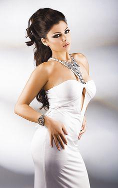 Lebanese singer, model and actress Haifa Wehbe