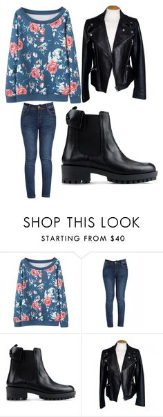 """""""wiosna tuż tuż"""" by eskucinska on Polyvore featuring moda, RED Valentino, Alexander McQueen, women's clothing, women, female, woman, misses i juniors"""