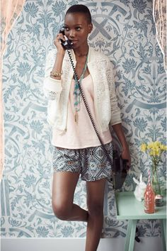 Tanzanian Model Herieth Paul For Anthropologie Spring 2014 Catalogue (11)