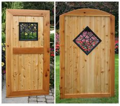 wrought iron double gate, walk-thru lowes - Google Search