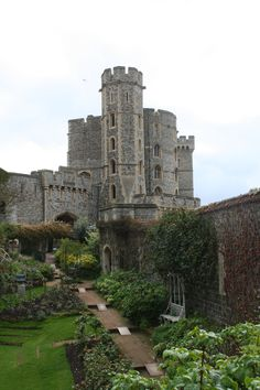 Windsor Castle in England