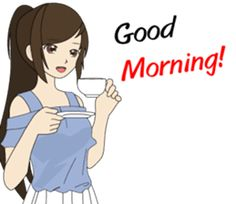 Cute girl's Story - Work & Life (Eng) – LINE stickers | LINE STORE Cool Girl Images, Cute Love Pictures, Cute Cartoon Pictures, Cute Love Gif, Girly Pictures, Love Cartoon Couple, Cute Cartoon Girl, Cute Love Cartoons, Anime Girl Dress