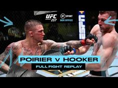 Dustin Poirier and Dan Hooker's incredible-five rounder! Full-Fight Replay - YouTube