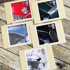 Classic Sports Cars Postcards for him, vintage set of five, Post Office PHQ Picture Cards, Morgan and Jaguar, Triumph and MG, Austin Healey Postcards For Sale, Vintage Postcards, Triumph Tr3, Jaguar Xk120, Austin Healey, Classic Sports Cars, Picture Cards, Post Office, Beautiful Images