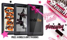 #Epic #YoungAdult #Giveaway – #Win a #KindleFire and ANY 2 #YA Novels! #FREEbooks #giveawayalert