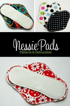 Make your own zero waste mama cloth. Save money and the environment. DIY sewing patterns for pantyliner, medium pad and long pad. #zerowaste #sewing #affiliate #mamacloth