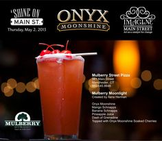Mulberry Moonlight at Mulberry Street in Manchester, CT #cocktail #drink #recipe