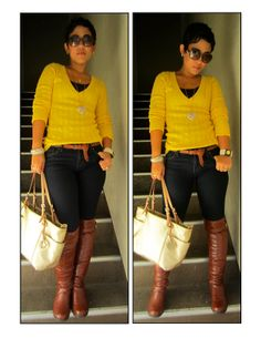 What I Wore | They Call Me Mellow Yellow