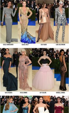 Os looks do Baile do Met 2017