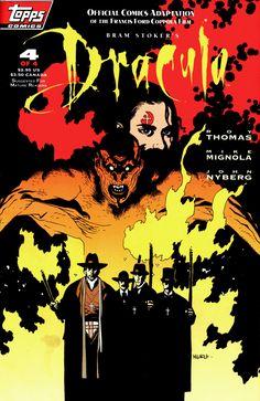 Bram Stoker's Dracula #4 (Topps Comics - January 1993) Illustrator: Mike Mignola