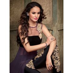 Eid Special Designer Purple Georgette Party Wear Salwar Suit-SSF747MSC(ARTI -536)karishma