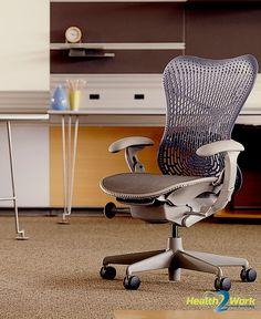 Design bureaustoel van Herman Miller